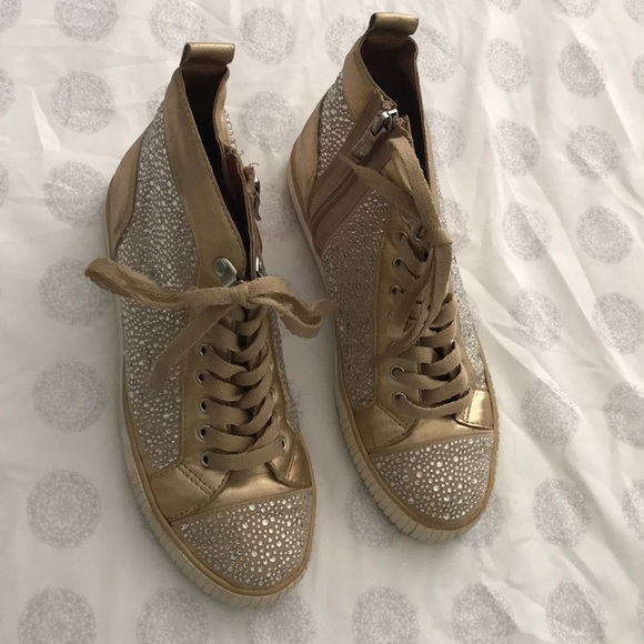 6353c26ede4d BCBGeneration Shoes | Bcbg Generation Bling Sneakers Size 6 12 ...